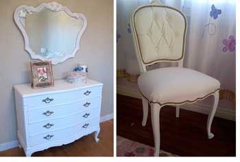 Muebles estilo franc s para dormitorios infantiles en for Muebles estilo frances