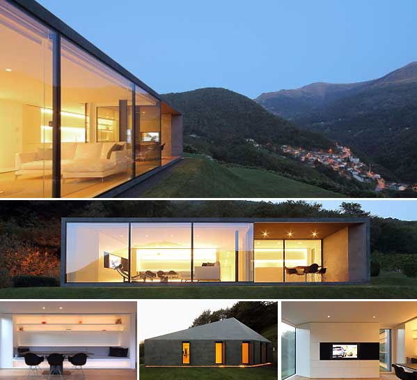 Casa prefabricada en los alpes suizos en vivienda - Casas en los alpes suizos ...