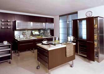 Cocinas con dise o gourmet en vivienda for Diseno de cocinas contemporaneas