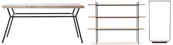 Dise o escandinavo en vivienda for Diseno de muebles de hierro