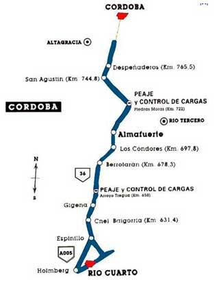 Autovía Río Cuarto – Córdoba, en Vivienda